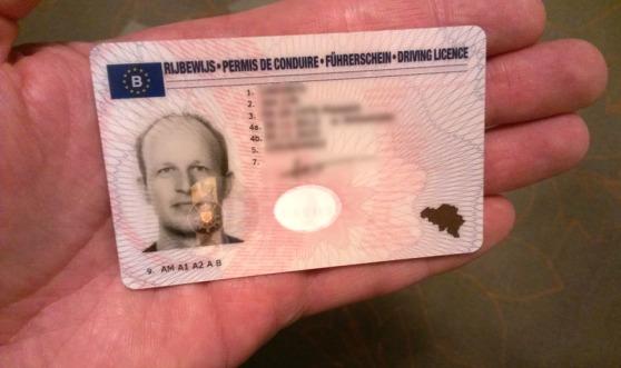 Nieuw Belgisch rijbewijs A