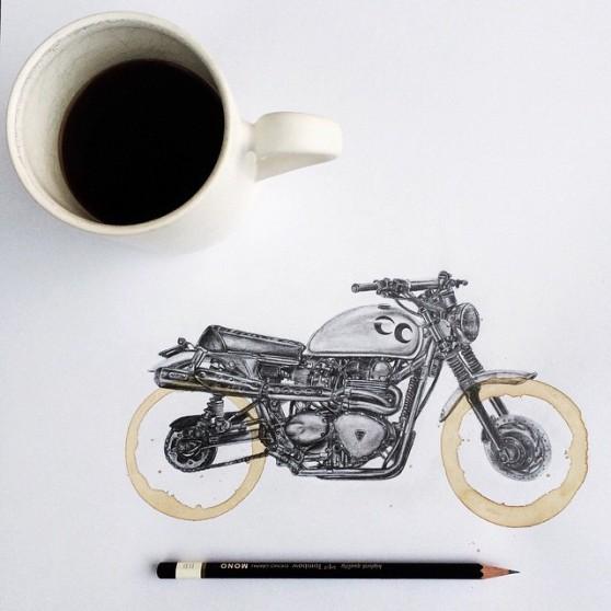 carter-asmann-koffiekring-tekening-motor