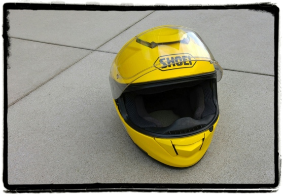 shoei-gt-air-yellow-helmet