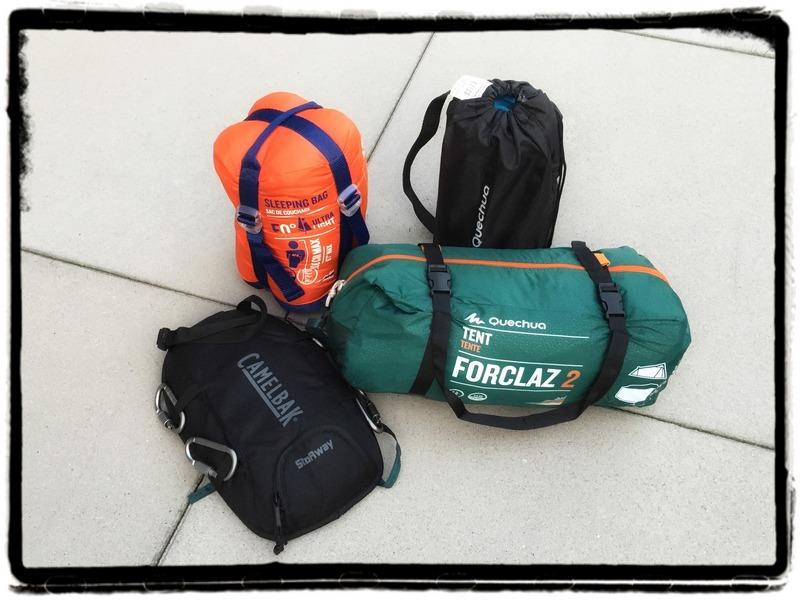slaapzak backpack