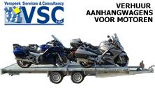 VSC aanhangwagenverhuur